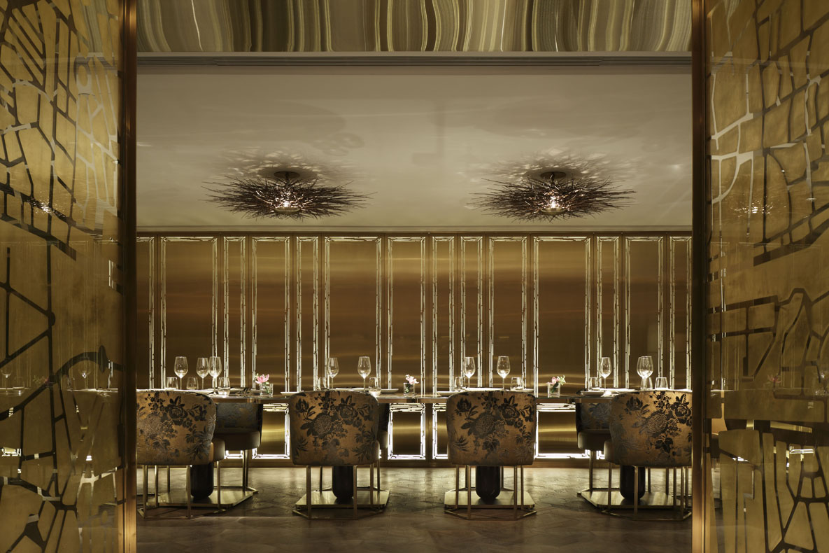 Pure french fine dining for Hk architecture firm